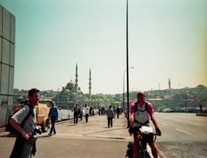 Turkey/Istanbul. War ich mit dem Fahrrad. Zwei Mal.