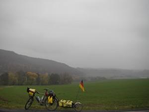 Diesiges Herbstwetter in Niedersachsen