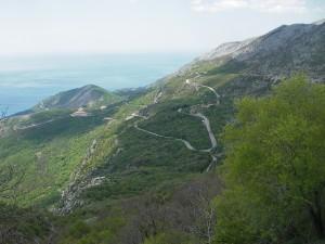 Montenegro. War ich mal mit dem Fahrrad
