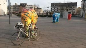 Schicker Fahrradständer