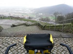 Blick aus Preußen Richtung Heimat...