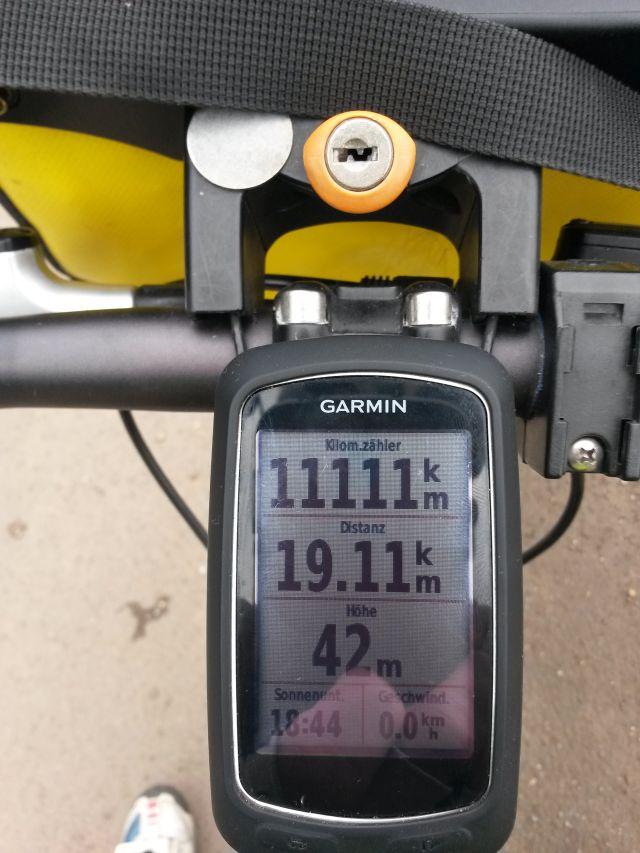 10 mal 1111km