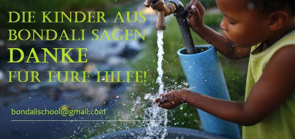 Wasser für Bondali – Die Abrechnung