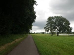 z.B. auf dem Weserradweg