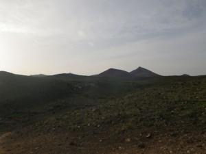 Richtung Playa Quemada