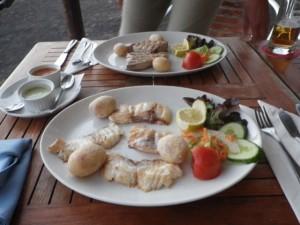 Der Fisch war nochmal toll