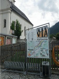 an der Via Claudia