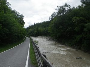 Via ciclista Fiume Adige