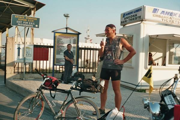 2000 Crossing the Alps to Greece